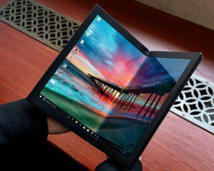 Lenovo dévoile le premier PC pliable au monde sous Windows 10