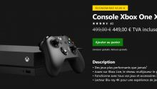 La Xbox One X passe de 499€ à 449€ pendant cette semaine de l'E3