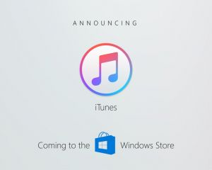 ​[BUILD 2017] iTunes arrive sur le Windows Store