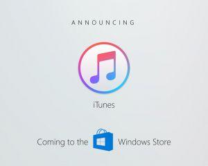 [BUILD 2017] iTunes arrive sur le Windows Store