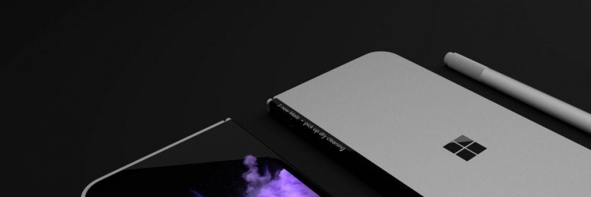 """Un nouveau brevet de Microsoft découvert pour une """"Surface"""" pliante"""