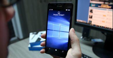 Démonstration vidéo de Windows Hello avec le capteur d'iris du Lumia 950