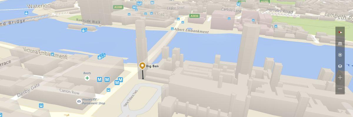 Windows Cartes propose un nouvel affichage des cartes en Insider