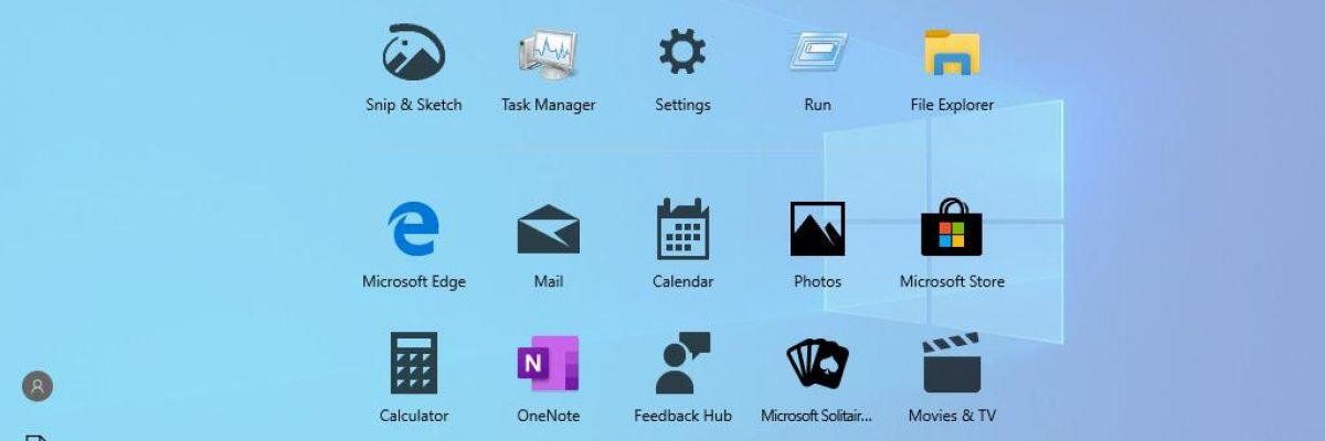 Microsoft déploie par erreur un nouveau Menu Démarrer sans tuiles dynamiques