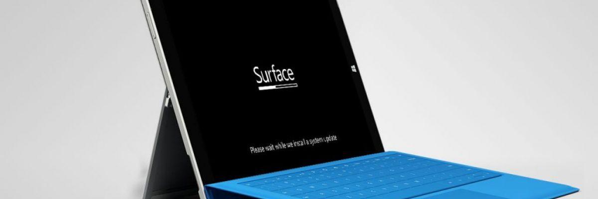Nouvelle mise à jour Firmware pour la Surface Pro 3