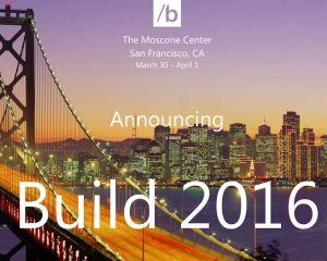 [Insolite] Les places pour la BUILD 2016 de Microsoft achetées en 60 secondes