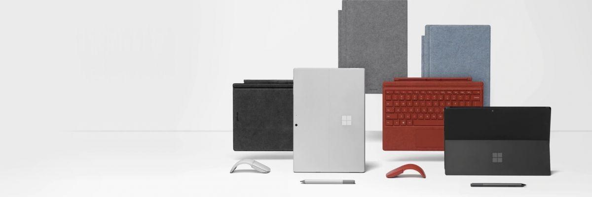 Les Surface Pro 7 et Laptop 3 sont disponibles dès aujourd'hui