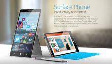 Le Surface Phone : en test de production et support des apps x86 via Continuum ?
