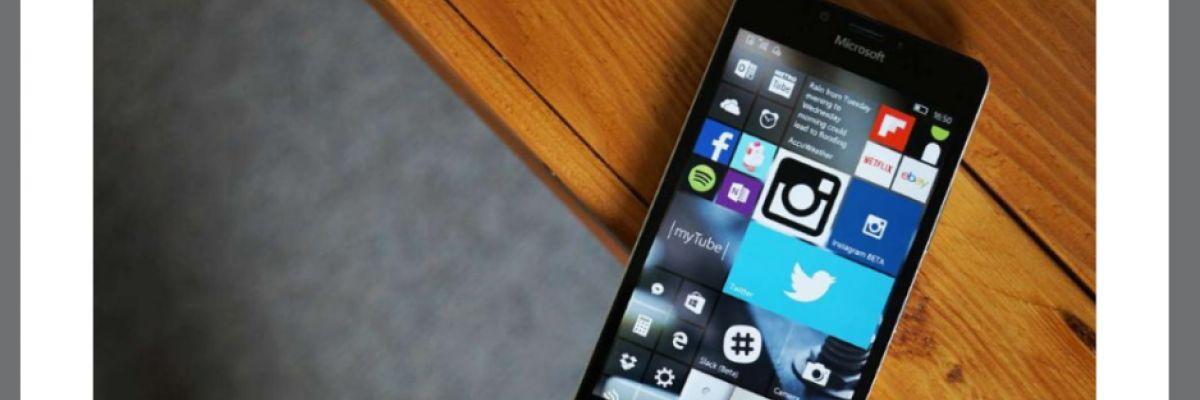 Windows 10 Mobile : Windows France annonce par erreur les extensions pour Edge