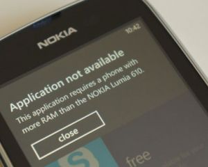 Liste des applications non compatibles avec le Nokia Lumia 610 [MAJ]