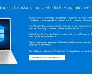 L'astuce pour obtenir Windows 10 gratuitement est bientôt terminée !