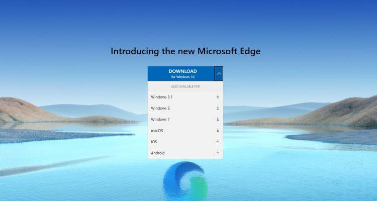 Windows 7 et 8.1 : le nouvel Edge arrive grâce à une mise à jour