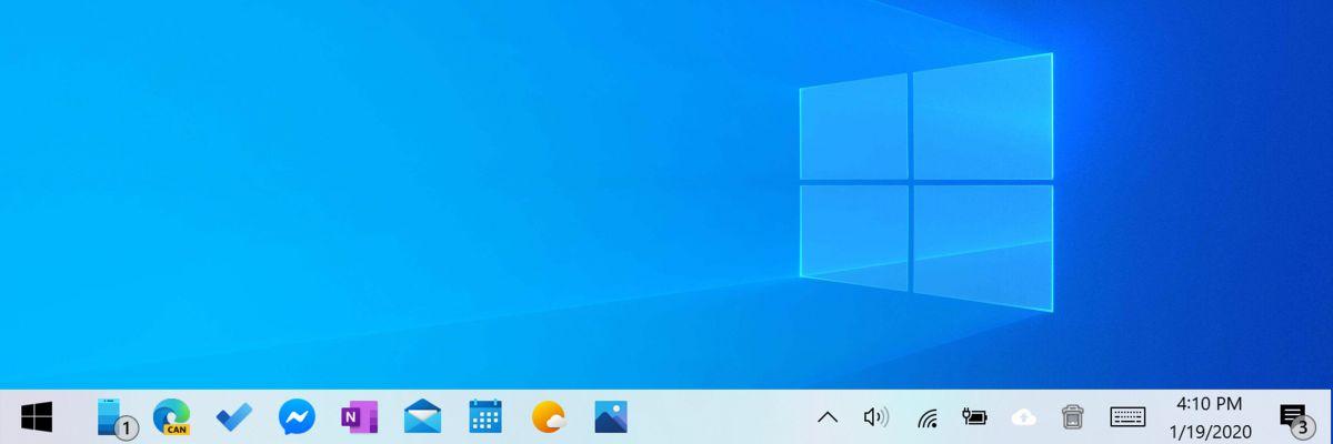 """Les icônes """"modernes"""" commencent à arriver sur Windows 10"""