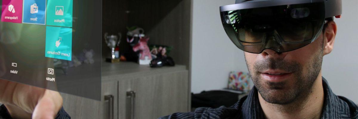 J'ai testé Hololens, le casque de réalité augmentée de Microsoft !