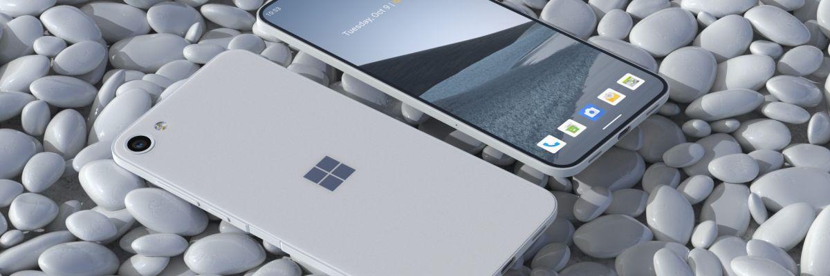 Microsoft Surface Solo : concept d'un smartphone classique sous Android