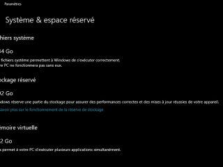 Windows 10 réservera 7Go de plus pour l'installation des futures mises à jour