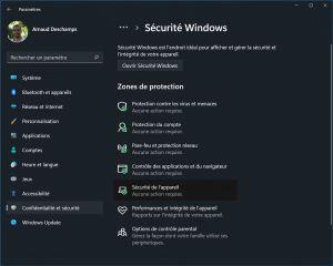 Chute de FPS dans les jeux : comment désactiver VBS sur Windows 11 ?
