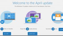 Comment libérer de l'espace après la mise à jour d'avril 2018 de Windows 10 ?