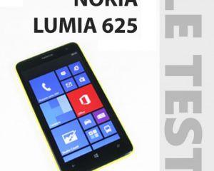 Test du Nokia Lumia 625 sous Windows Phone 8