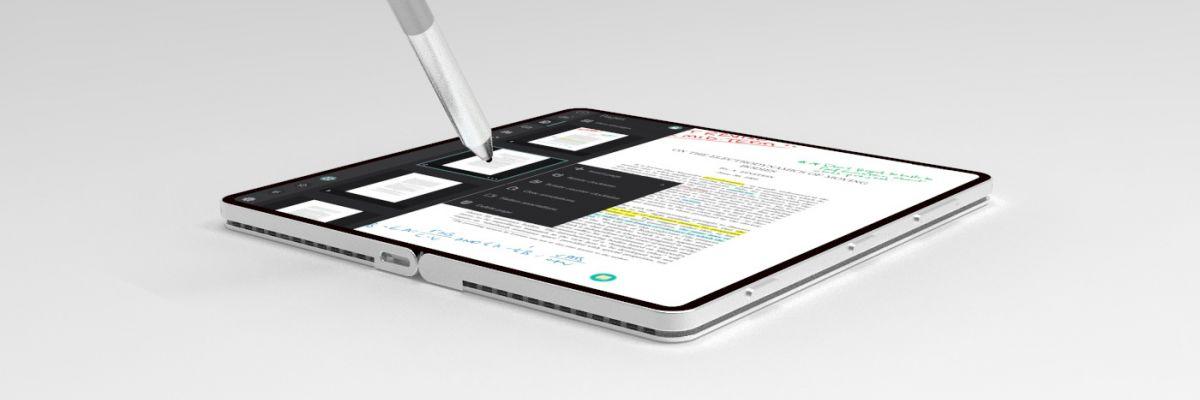 Le Surface Phone, en vrai ou presque grâce à ce magnifique concept !