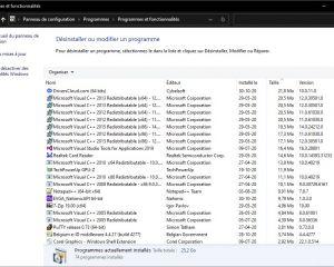Désinstaller un logiciel, bientôt impossible via le Panneau de Configuration ?
