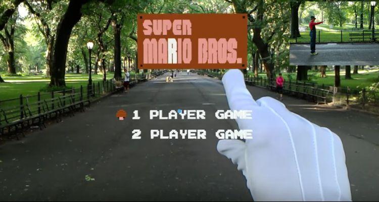 Super Mario Bros sur HoloLens, c'est tout simplement bluffant !