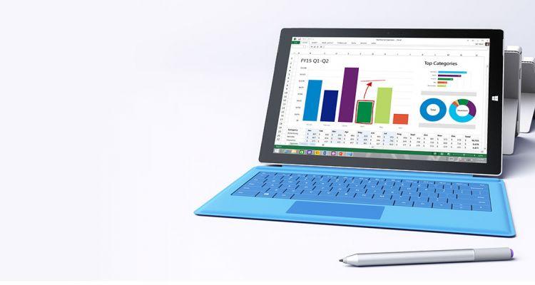 Nouvelle mise à jour firmware pour le Surface Pro 3