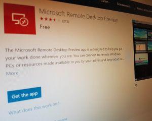 Remote Desktop : la nouvelle appli pour Windows 10 sort de sa version preview