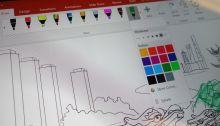 Microsoft Whiteboard : une nouvelle application pour dessiner à plusieurs