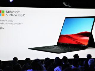 Microsoft présente la Surface Pro X sous Windows 10 ARM