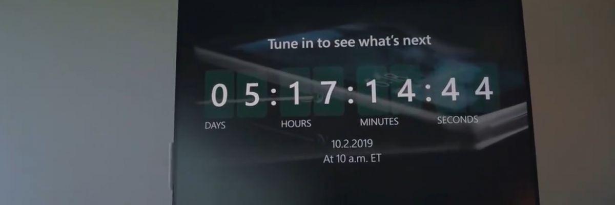 Nouveau teaser vidéo de Microsoft à l'approche de la keynote