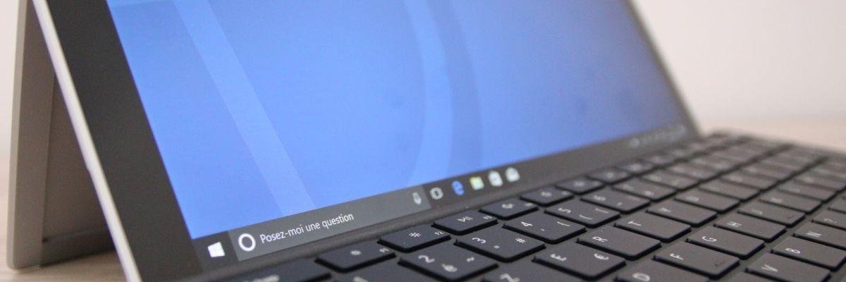 Surface Pro 5 et 6 : une nouvelle mise à jour firmware est disponible