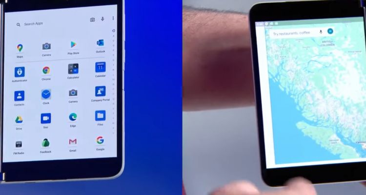 """Effet démo : Microsoft """"efface les bugs"""" du Surface Duo dans une nouvelle vidéo"""