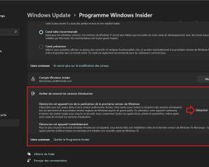 Windows 11 : comment quitter le programme Insider et utiliser la version finale?