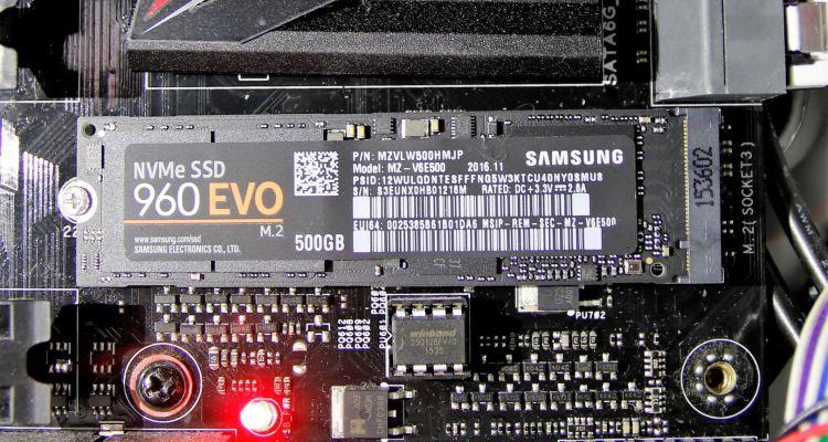 J'ai testé le Samsung 960 EVO : mon retour sur ce SSD performant mais assez cher