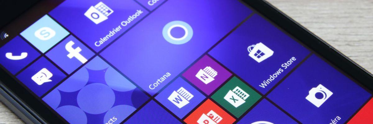 Windows 10 Mobile Creators Update commence à se déployer chez nous