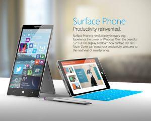 Surface Phone, un nouveau concept de smartphone Windows 10
