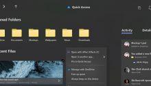 Concept : un magnifique explorateur de fichiers compatible avec le Surface Fold