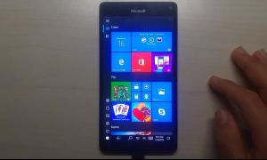 Windows 10 ARM : l'interface mobile et les appels arrivent sur le Lumia 950 XL