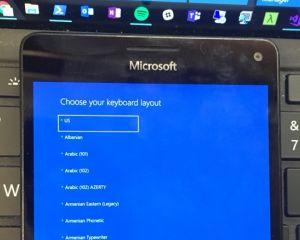 Windows 10 ARM démarre sur un Lumia 950 XL : le portage avance