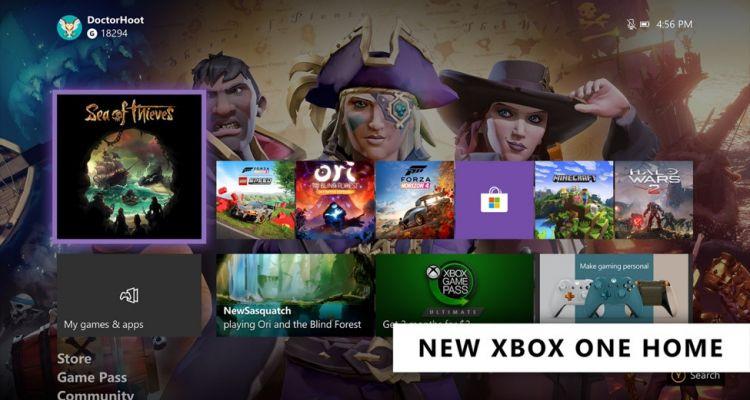 Xbox One : la nouvelle interface est disponible avec la mise à jour de février