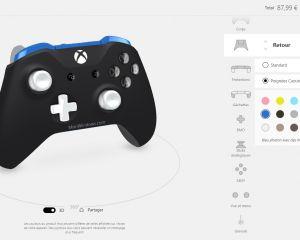 Personnalisez votre manette Xbox One avec Xbox Design Lab