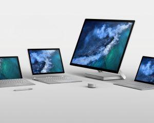 Des mises à jour firmware sont disponible sur Surface Pro, Book et Studio