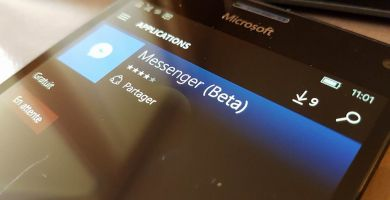 Facebook Messenger, application universelle, enfin dispo pour Windows 10 Mobile