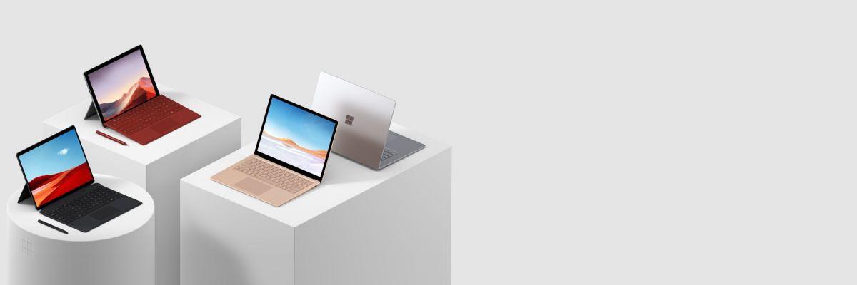 Bon plan : de 20 à 40% de réduction sur les Surface Pro X et Laptop 2