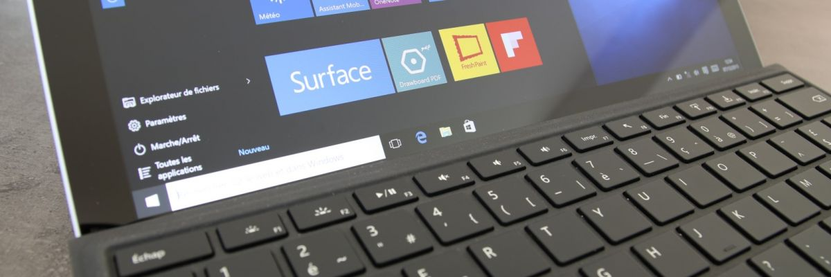 test de la microsoft surface pro 4 sous windows 10 professionnel monwindows. Black Bedroom Furniture Sets. Home Design Ideas