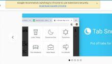 Utiliser les extensions de Chrome sur Edge n'est pas sécurisé selon Google