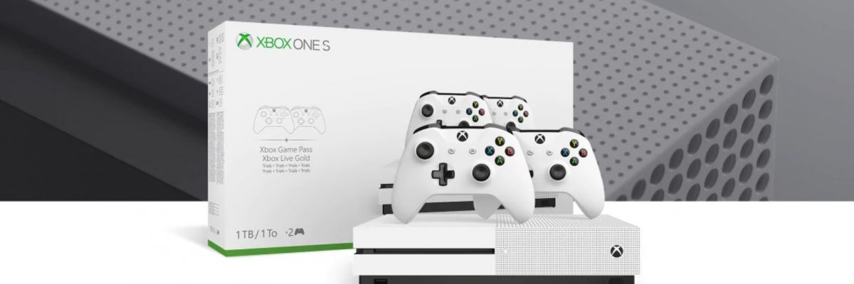 [Ultra bon plan] La Xbox One S 1To est  à 199€ avec un jeu ou 2 manettes