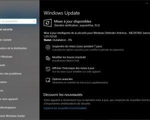 KB4551762 : une mise à jour de sécurité importante est dispo sur Windows 10