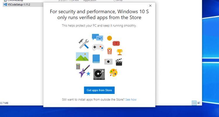 Comment revenir vers Windows 10 S à partir de Windows 10 Pro ?